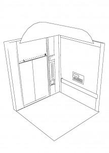 エレベーター使用例